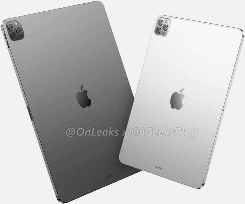 iPad Pro triple lenses