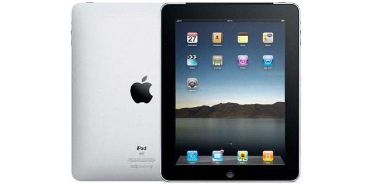 1211 apple ipad 1 16gb wifi 750x375 - Uběhlo 10 let od představení prvního iPadu. Jak šel čas?