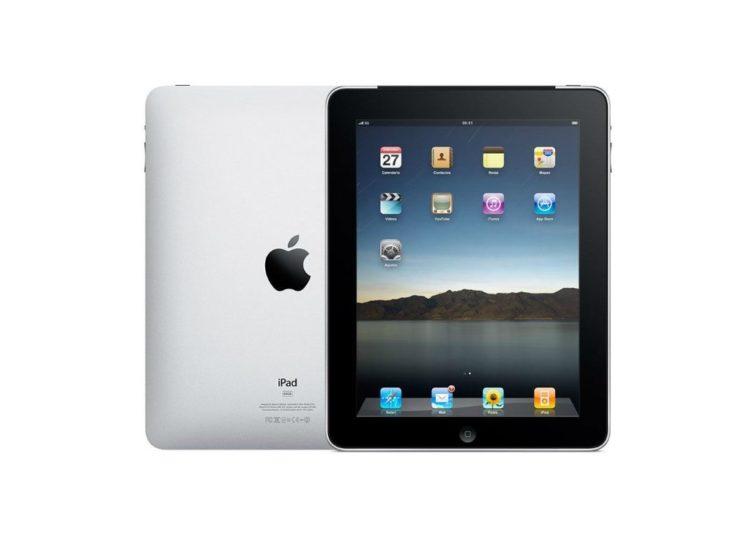 1211 apple ipad 1 16gb wifi 750x536 - Uběhlo 10 let od představení prvního iPadu. Jak šel čas?
