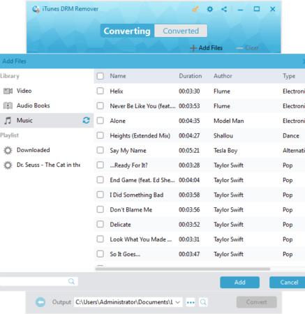 add m4p music 2 437x450 - Leawo Prof. DRM umožní použití mediálních souborů na všech zařízení