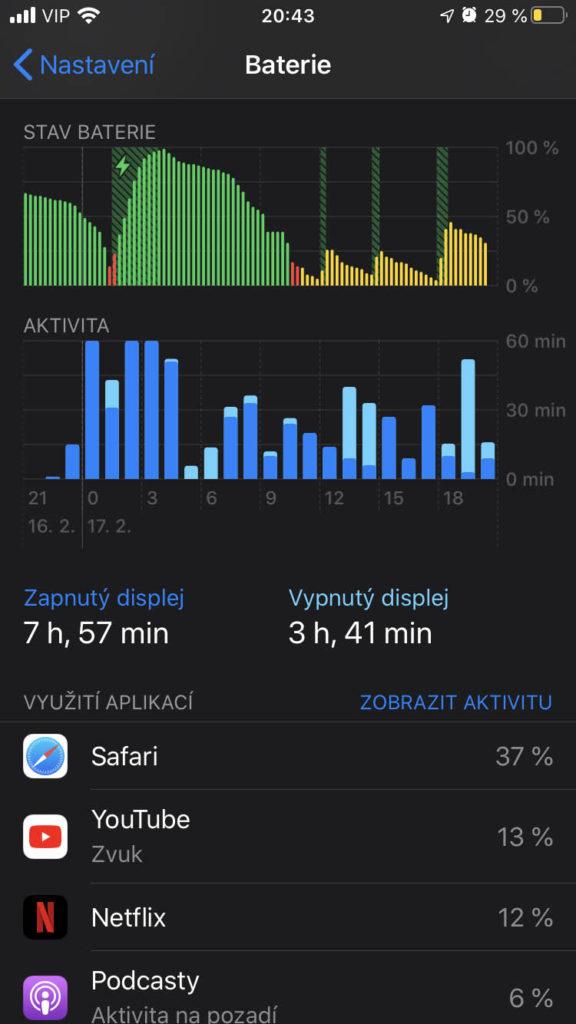 Aplikace iOS 13