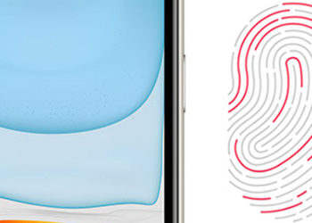 iPhone s Touch ID na boku
