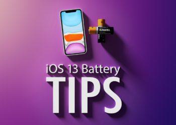 10 tipů iOS 13 výdrž baterie