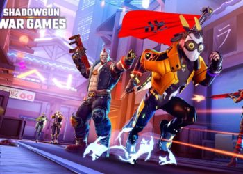 vychazeji shadowgun war games 350x250 - Tip na iOS hru – logická hra se smrtí Felix The Reaper