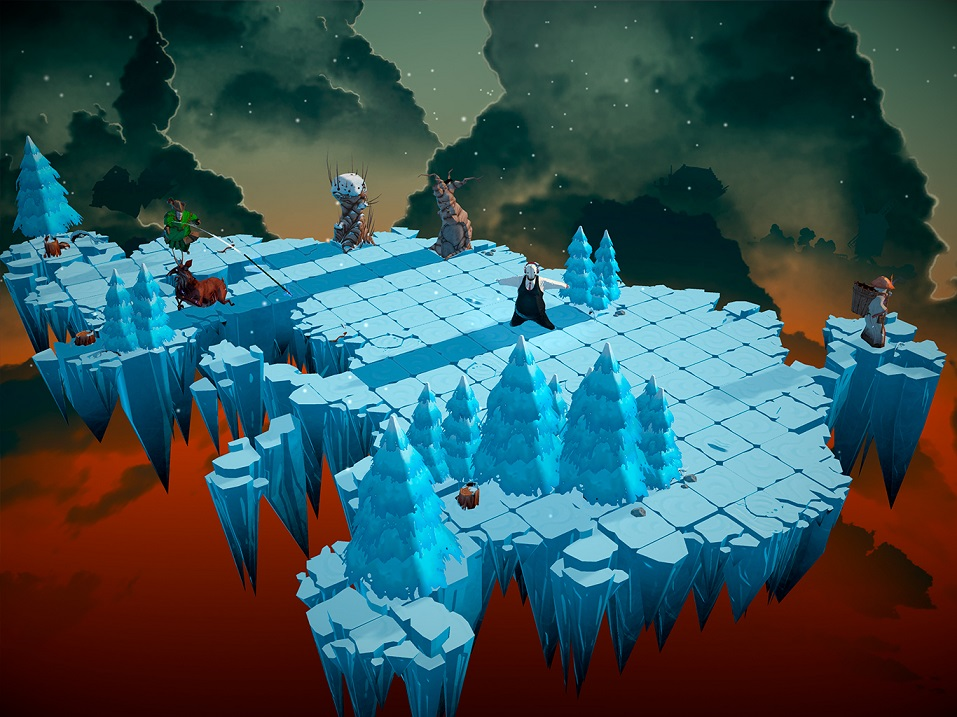 Felix The Reaper Screenshot 02 - Tip na iOS hru – logická hra se smrtí Felix The Reaper