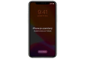 Odblokování iPhone