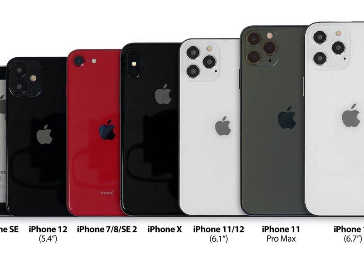 iPhone 12 velikost