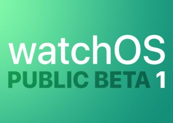 watchOS 7 veřejná betaverze