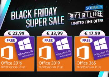 Black Friday Windows 10