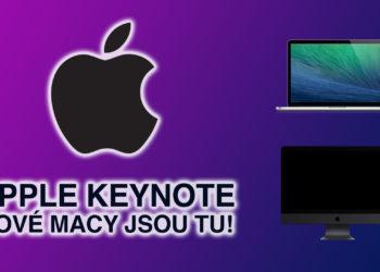 Apple Keynote a naše očekávání