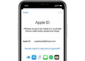 Jak vytvořit Apple ID bez kreditní karty