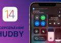 iOS 14 rozpoznávání hudby