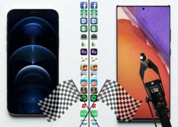 iPhone 12 Pro vs. Samsung Galaxy Note 20 Ultra