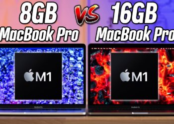 Apple M1 8GB vs. 16GB