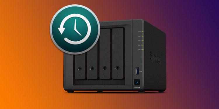 Jak nastavit Time Machine na serveru Synology