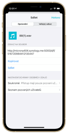 Share from Imagineer 12 229x450 - Synology iPhone využije na maximum. Co umí iOS aplikace?