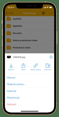 Share from Imagineer 6 229x450 - Synology iPhone využije na maximum. Co umí iOS aplikace?