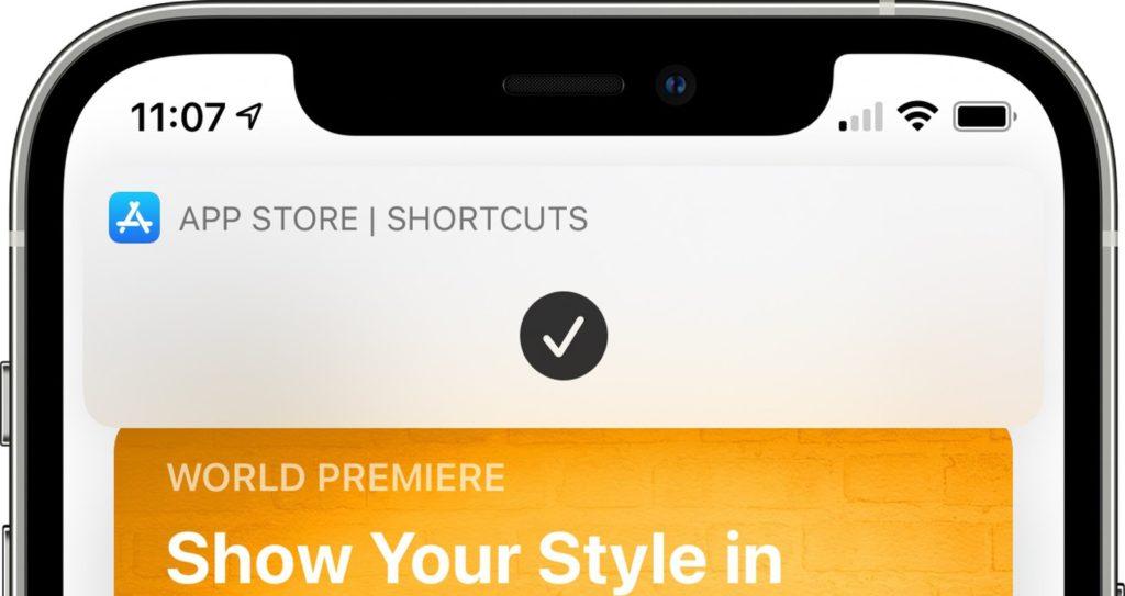 iOS 14 Zkratky