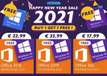 Novoroční výprodej Godeal24