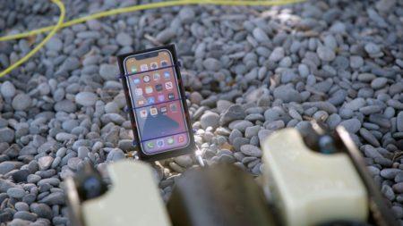 vytopení iPhone