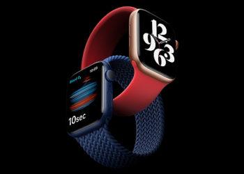 apple watch 6s 202009 GEO CZ 350x250 - Apple vládne trhu wearables. Ukazují to výsledky z konce roku 2020
