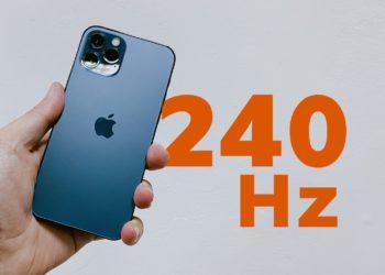 iPhone displej