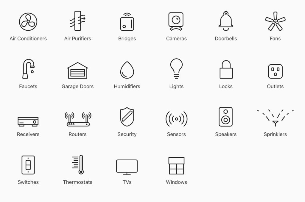Apple HomeKit příslušenství