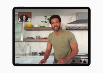 Center Stage iPad Pro