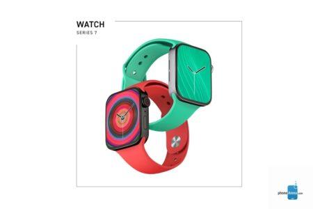 Apple Watch Series 7 colors 450x300 - Dosud nejpovedenější rendery ukazují podobu Apple Watch Series 7