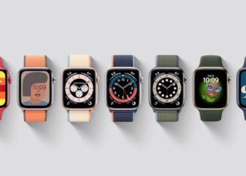 Apple Watch Series 7 ciferníky