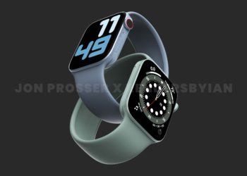 Apple Watch Series 7 velikost