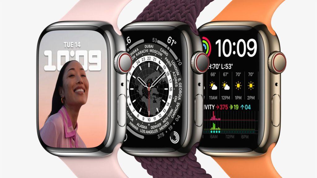 Apple Watch Series 7 barvy