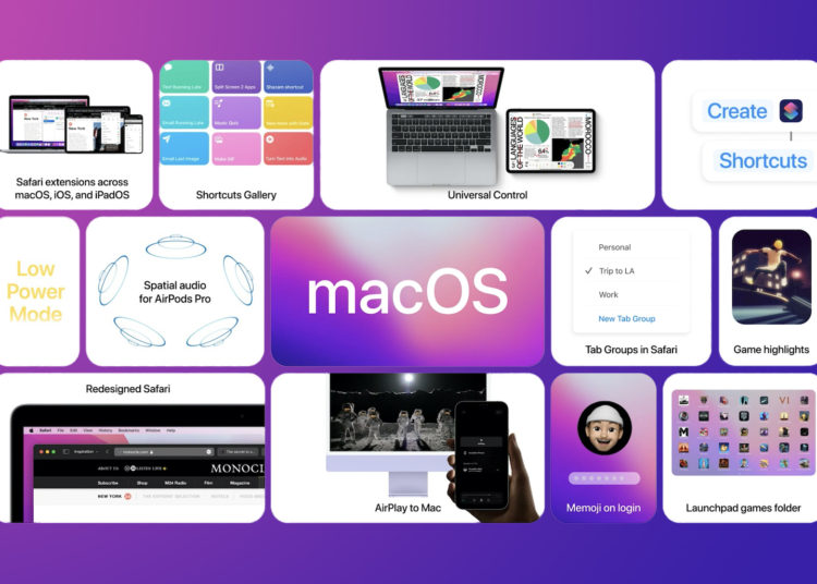 apple uvadi na trh novou macos 12 monterey public beta 750x536 - macOS Monterey Public Beta je právě venku, všichni mohou testovat