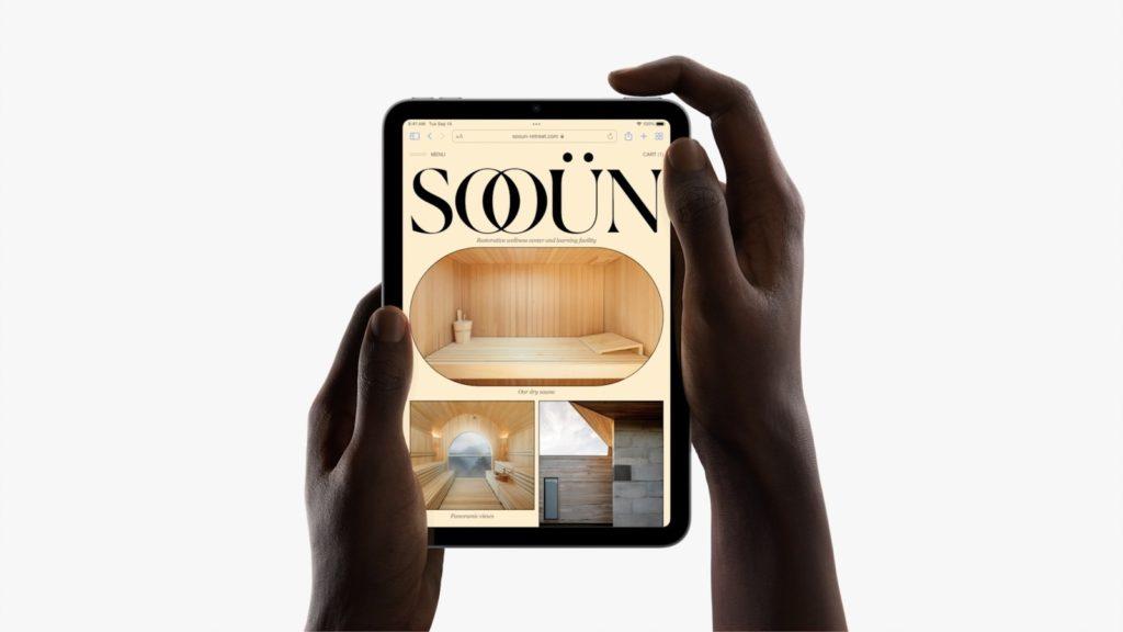 iPad mini 6 Touch ID