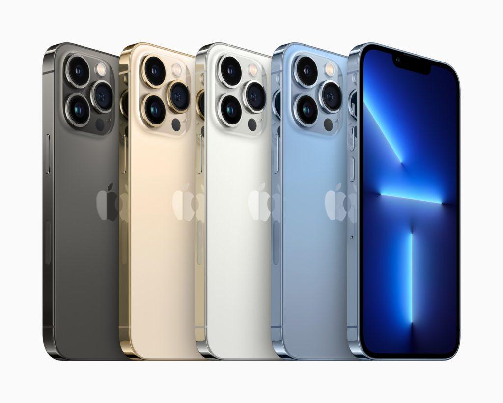 iPhone 13 Pro barvy